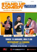Stand-up comedy & magie & ventrilocie