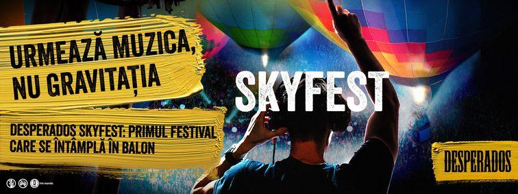 Desperados SkyFest - Experimentează muzica electronică din balon!