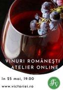 Vinuri romanesti – Atelier online