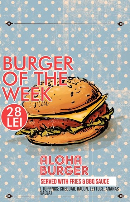 Burger of the week