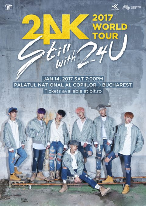 "24K ""Still with 24U"" 2017 World Tour"