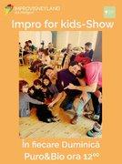 Spectacole din Bucuresti - Impro for kids - Show!