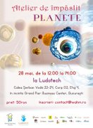 Workshops din Bucuresti - Atelier de impaslit planete – eveniment marca Work at Home Moms
