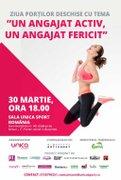 Alte evenimente din Bucuresti - Un angajat activ, un angajat fericit!