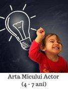 Workshops din Bucuresti - Curs de actorie pentru copii (4 - 7 ani)