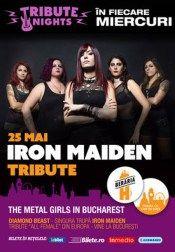 Iron Maiden Tribute Cu Diamond Beast