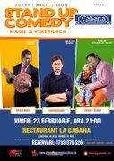 Spectacole din Romania - Stand-up comedy & magie & ventrilocie