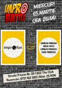 Impro Battle - ImproFUN vs. Mixed Cast