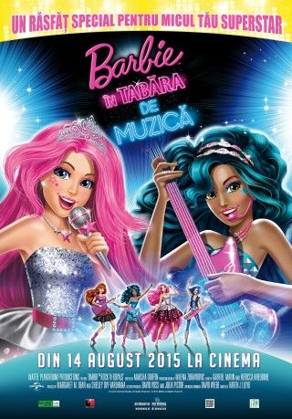 Barbie in Rock 'n Royals (Barbie in tabara de muzica) (2015)