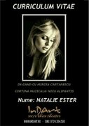 Curriculum Vitae - Natalie Ester