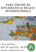 Workshops din Bucuresti - Curs online de Diplomatie si Relatii Internationale