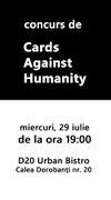 Concurs de Cards against Humanity