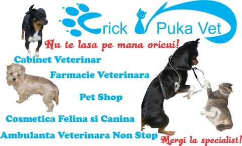 Crick Puka Vet
