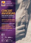 Concerte din Bucuresti - Concert aniversar al Fundatiei O Noua Viata