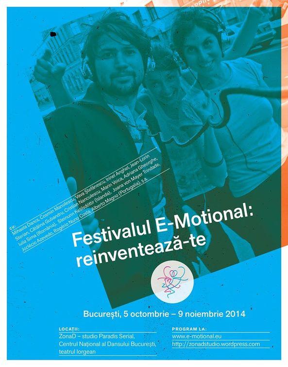 Festivaluri - Festivalul E-Motional: reinventeaza-te