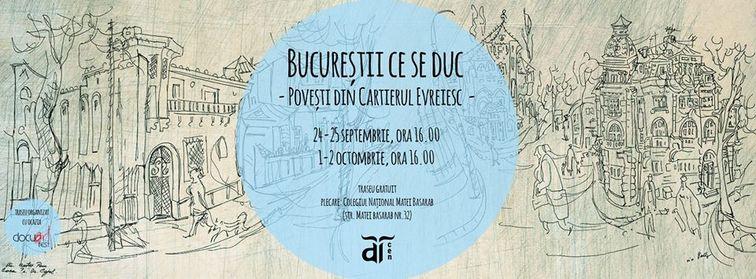 Alte evenimente - Prin Bucurestii ce se duc   Povesti din Cartierul Evreiesc