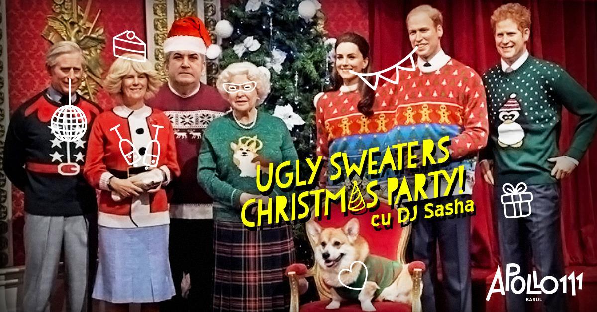 La zi pe Metropotam - Petrecere de Crăciun în Apollo111 cu Ugly Sweaters