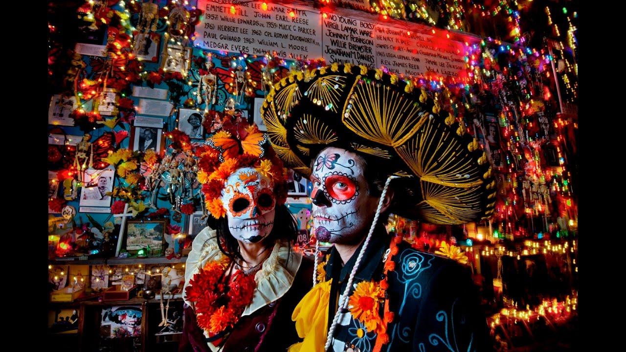La zi pe Metropotam - Día de los Muertos- organizată de Ambasada Mexicului în România