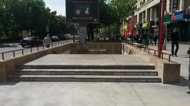 Utile - Accesul la statia de metrou Piata Unirii 1 a fost redeschis