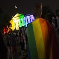 15 monumente din America au fost luminate in ziua legalizarii mariajului intre persoanele de acelasi sex