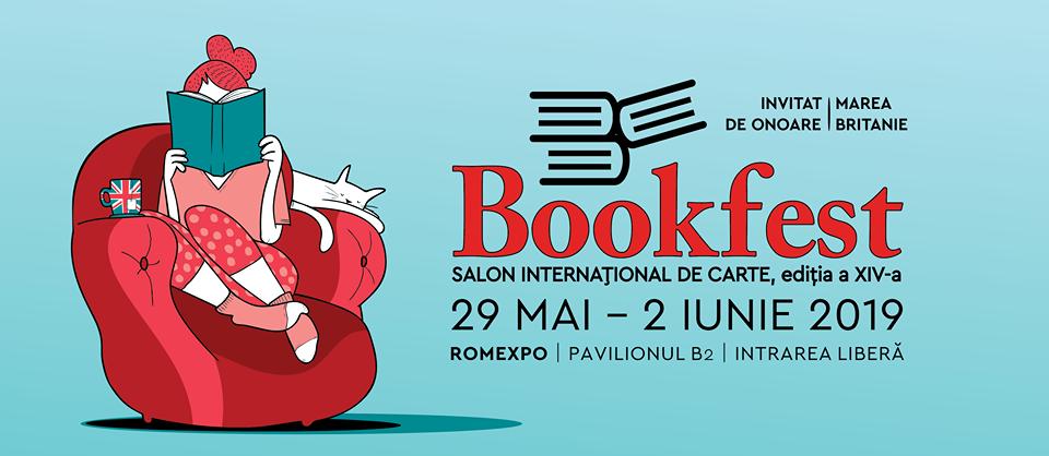 Bookfest - Salonul Internațional de Carte va avea loc între 29 mai și 2 iunie