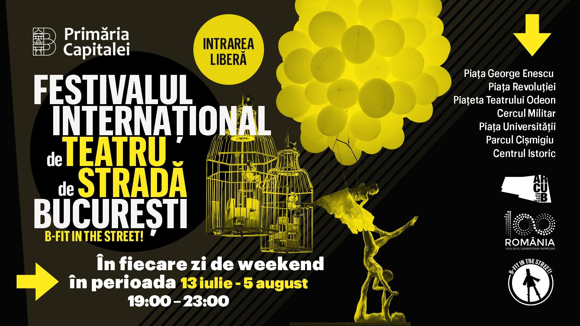 Festivalul Internațional de Teatru de Stradă București 2018