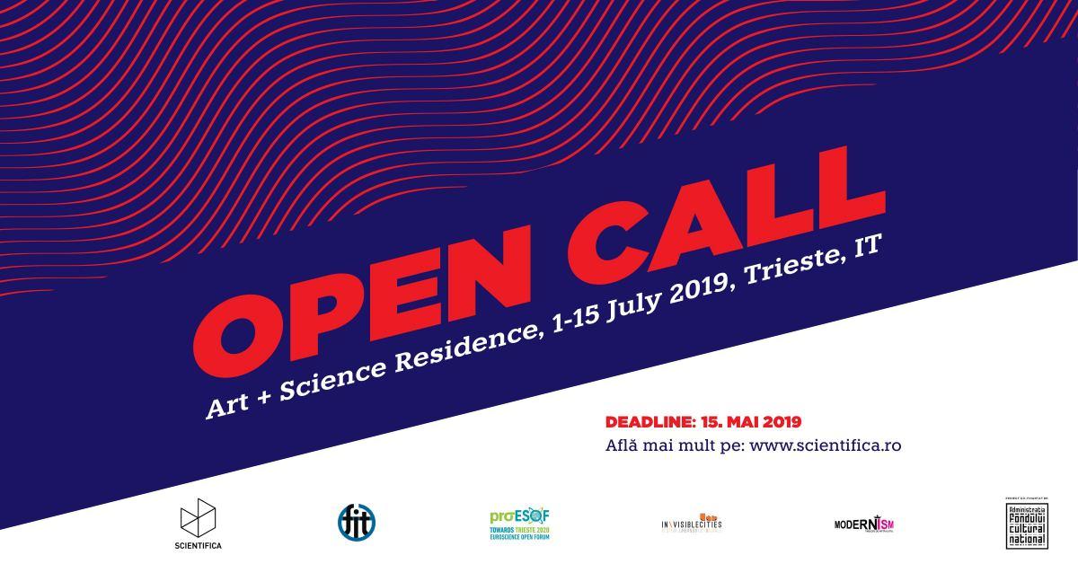 Scientifica lansează ediția 2019 a rezidenței. Deadline 15 mai