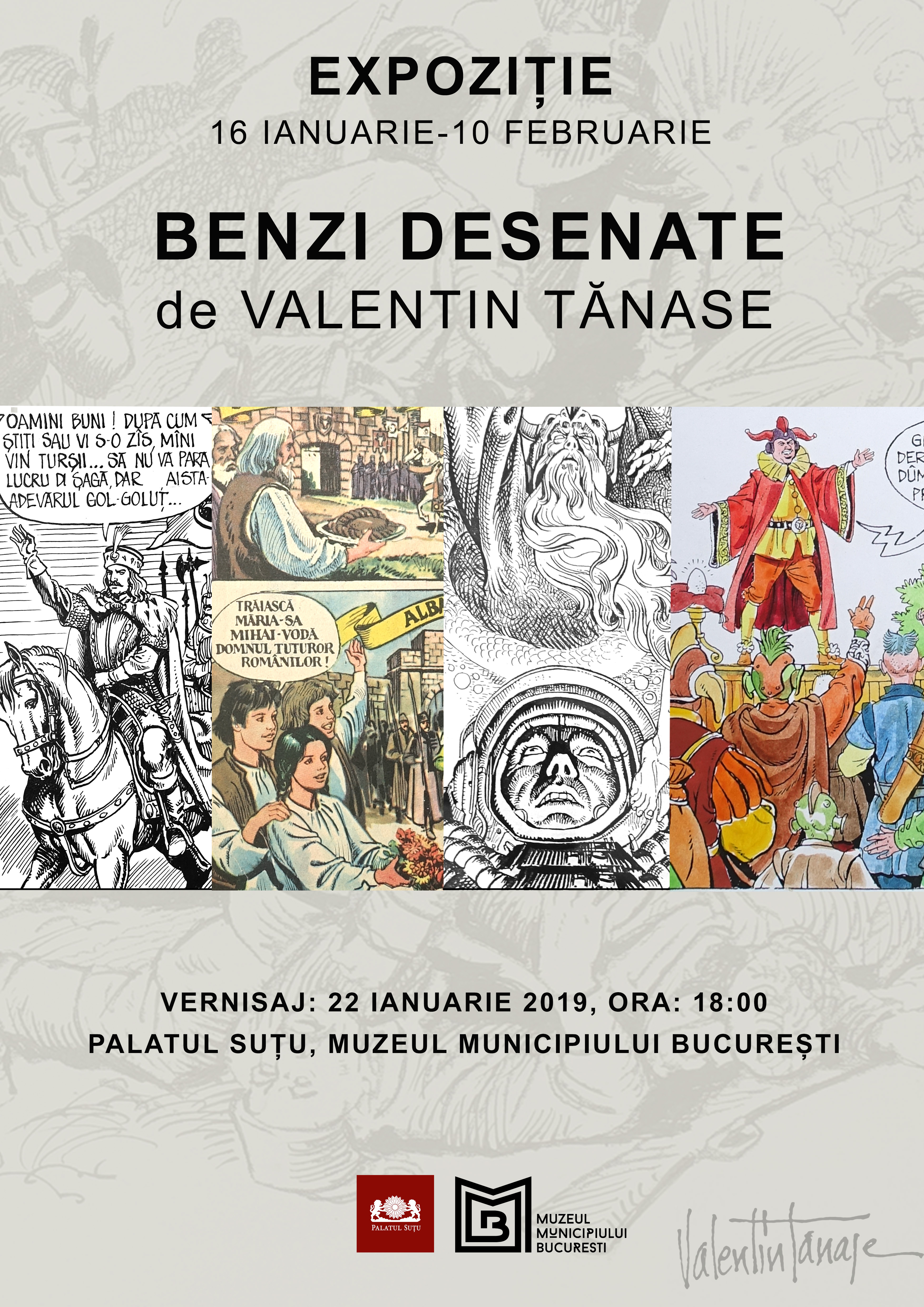 Benzi desenate de Valentin Tănase