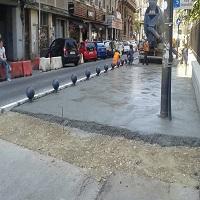 Utile - Strada Ion Ghica din Bucuresti va fi reabilitata - se largesc trotuarele si se monteaza bile anti-parcare