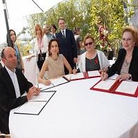 La zi pe Metropotam - S-a semnat Conventia de Cooperare in Cinematografie intre Romania si Franta