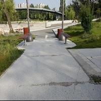 Utile - Asfalt crapat in parcul Drumul Taberei, cel mai scump parc din Bucuresti