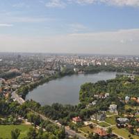 Locuri de vizitat - Cum se vede Bucurestiul de sus - fotografii de pe Sky Tower, cea mai inalta cladire din Romania