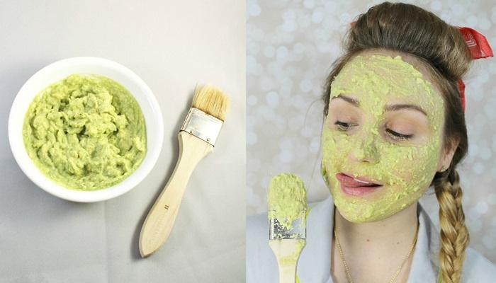 Imagini pentru masca de fata naturala cu avocado si banana