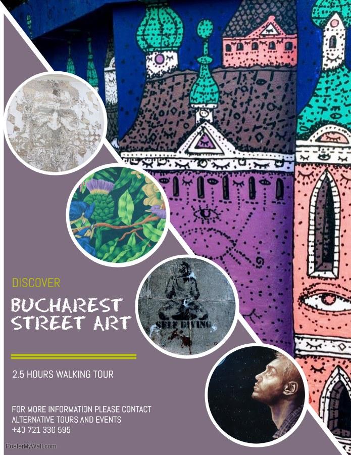 Street Art Walk- Un tur al artei stradale din București