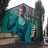 Locuri de vizitat - I <3 Bucharest: Muralul superb de pe strada General Eremia Grigorescu