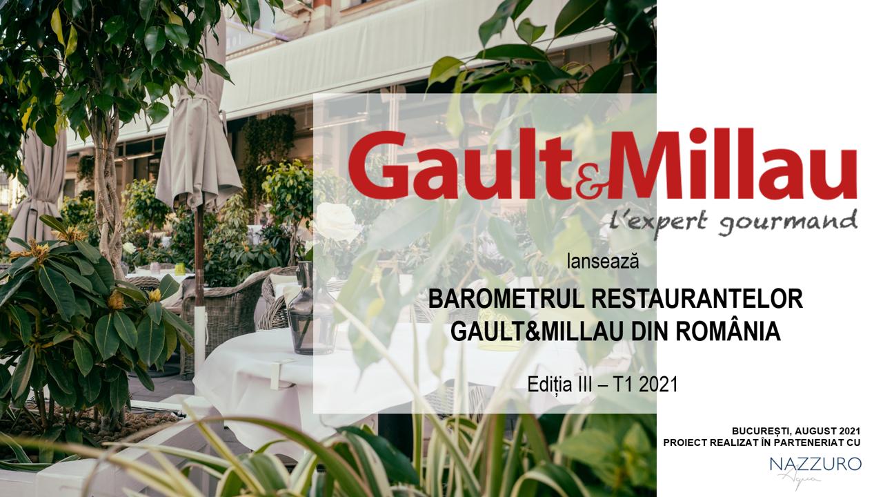 La zi pe Metropotam - Gault&Millau lansează Barometrul Restaurantelor Gault&Millau din România –  ediția III