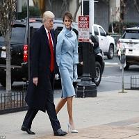 Donald Trump si Melania au ajuns la Casa Alba si au fost intampinati de sotii Obama - primele fotografii