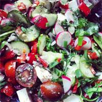 Unde Iesim in Oras? - Salate inedite in locurile cool din Bucuresti