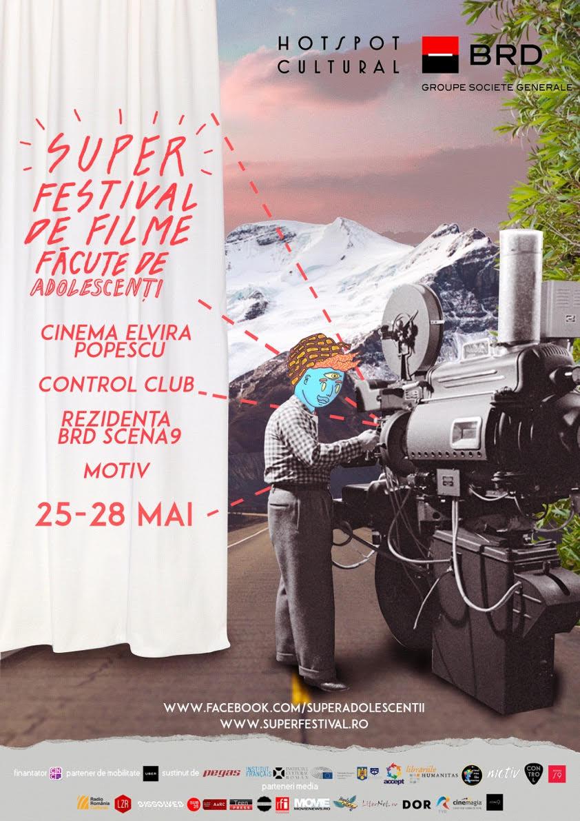 Incepe Super- festivalul de filme făcute de adolescenți