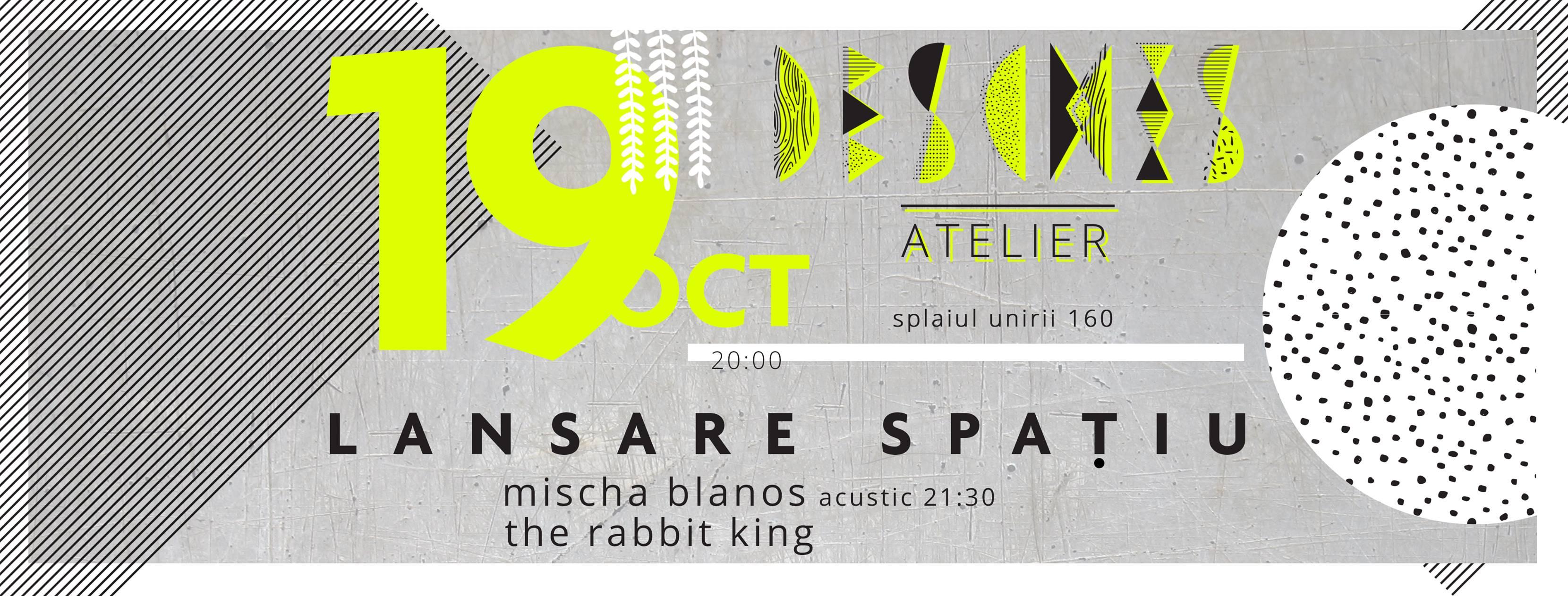 Deschis - Atelier- un nou loc pentru evenimentele din București//soft opening