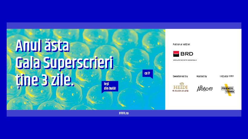 Zilele Superscrieri: mini-congres de New Journalism