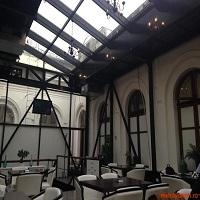 Cronici Restaurante din Romania - Cafe Antipa - locul discret si usor-corporate din gradina muzeului national de istorie naturala