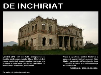 castel de inchiriat