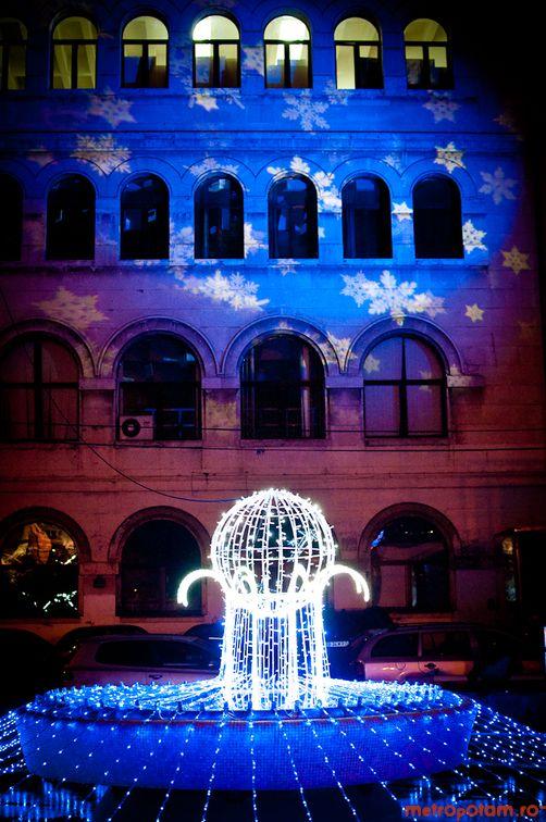 2,7 milioane de luminite de Craciun in Bucuresti