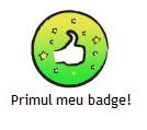 primul badge