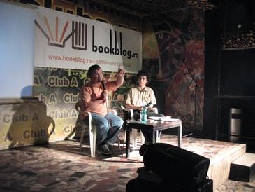 BookTalks - Ioan T. Morar in Club A