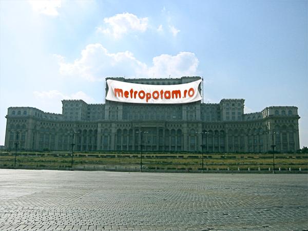 metropotam pe casa poporului