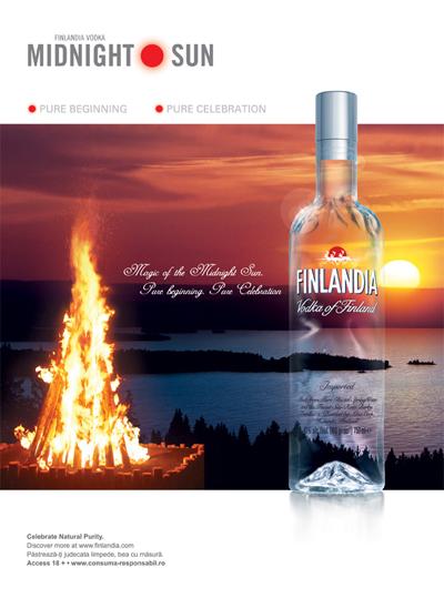 Finlandia Vodka a sarbatorit Soarele de la Miezul Noptii