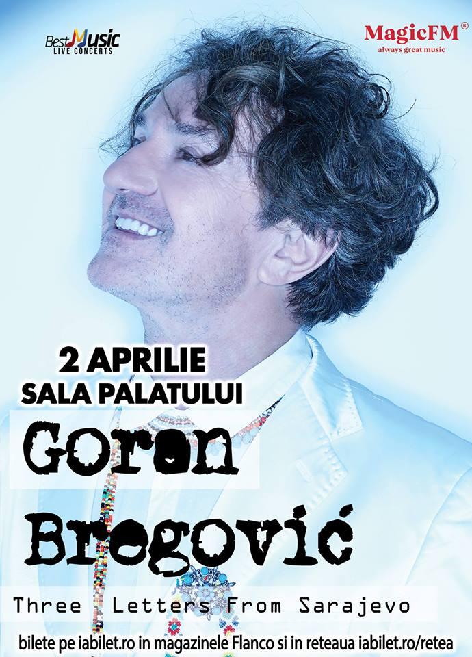 Goran Bregovic, 2 aprilie, Sala Palatului