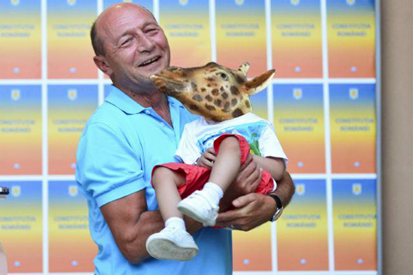 Girafa Antipatica